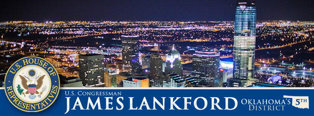 James Lankford e-newsletter banner