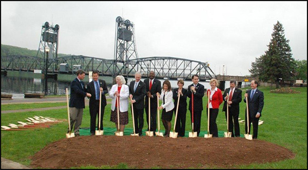 St. Croix River Bridge Groundbreaking - Group Photo